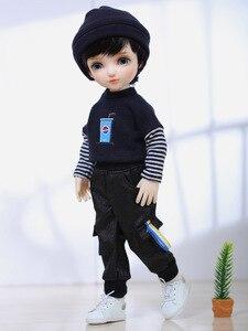Image 5 - Shuga פיות Pomy 1/6 Fullset BJD SD בובות YoSD Littlefee Luts שרף דמויות כדור משותף צעצועי פאה נעלי בגדי עיניים BWY