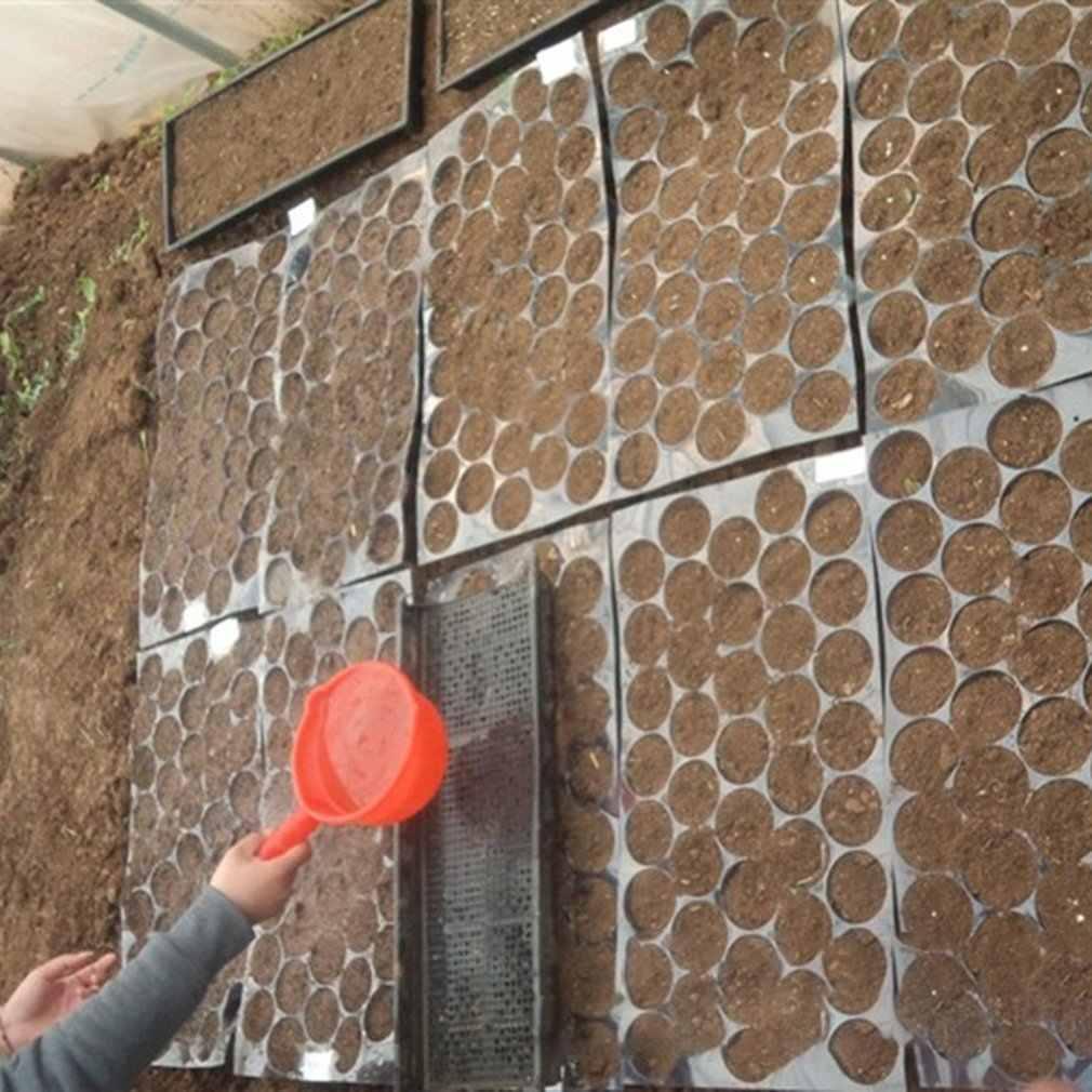 Bandeja de plántulas de plástico negro de alta calidad flor vegetal guardería espesamiento especial Anti-oxidación duradera