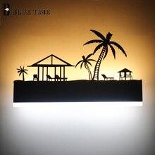 12W Modern Led Wall Lamp Decoration Sonce Light Indoor Lighting For Living room Bedroom Bedside Black Wandlamp Lustre
