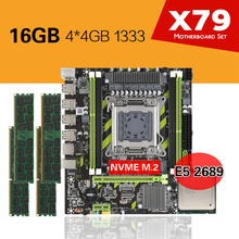 X79 Xeon E5 2689 DDR3 Kllisre with Combos 4pcs-X-4gb Memory-Ddr3-Ram 1333/pc3 CPU