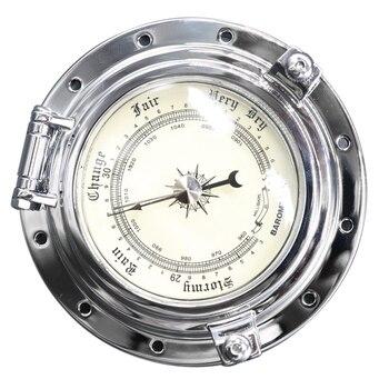 Marine Boat RV Yacht Retro Barometer Air Gauge for Navigation