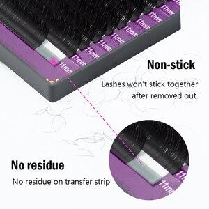 Image 5 - NAGARAKU رمش تمديد Maquiage جلدة الفردية رمش الطبيعية لينة جلدة عالية الجودة الاصطناعية المنك ماكياج