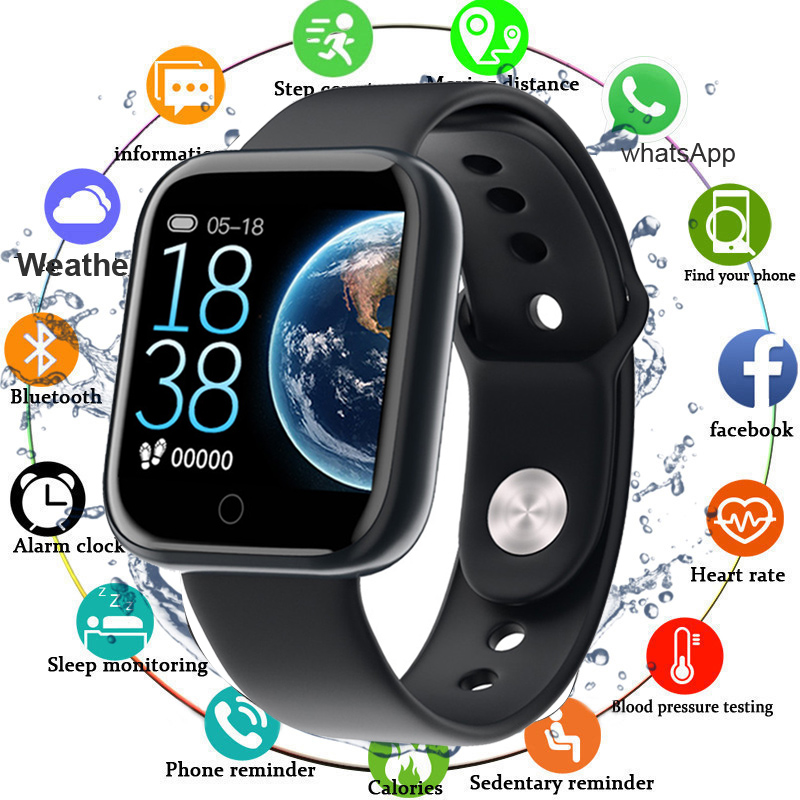 2020 Sport Smartwatch Women Blood Pressure Waterproof Smart Watch Men Heart Rate Monitor Fitness Tracker Watches For Android IOS