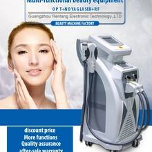 best CE approved rf 3 in 1 laser hair removal machine ND YAG