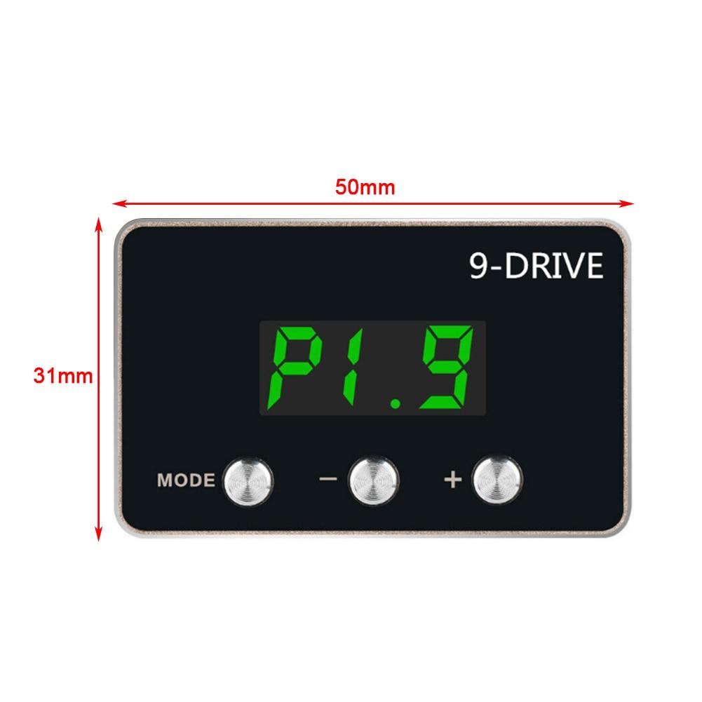 Für LAND ROVER RANGE ROVER 9-Stick Elektronische Drossel Controller Pedal Accelerator Für BMW 1 2 3 4 5 6 7 serie X1 X3 X5 X6