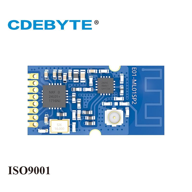 Ebyte E01-ML01SP2 NRF24L01P 2.4GHz 20dBm 100mW SPI IoT PCB Antenna IPEX NRF24L01 PA LAN Wireless Transceiver Module
