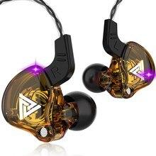 Спортивные наушники QKZ AK6 Dynamic Circle, 108 дБ, с микрофоном, 20 ~ 20000 Гц, проводные наушники-вкладыши