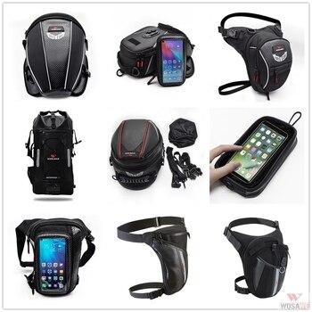 WOSAWE Optional Waterproof Motorcycle Bag Multifunction High Capacity Rider Bag Drop Leg Bag Tank Bag Rear Seat Bag optional drone bag
