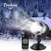 Snowfall LED Light Projector,Sanwsmo Christmas Snow Light,Snow Falling Projector Lamp Dynamic Snow Effect Spotlight for Garden