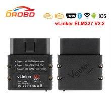 Vgate vLinker MC+ ELM327 V2.2 Bluetooth4.0 WIFI OBD2 Scanner For Android/IOS PK OBDLINK ELM329 Work for BimmerCode Forscan