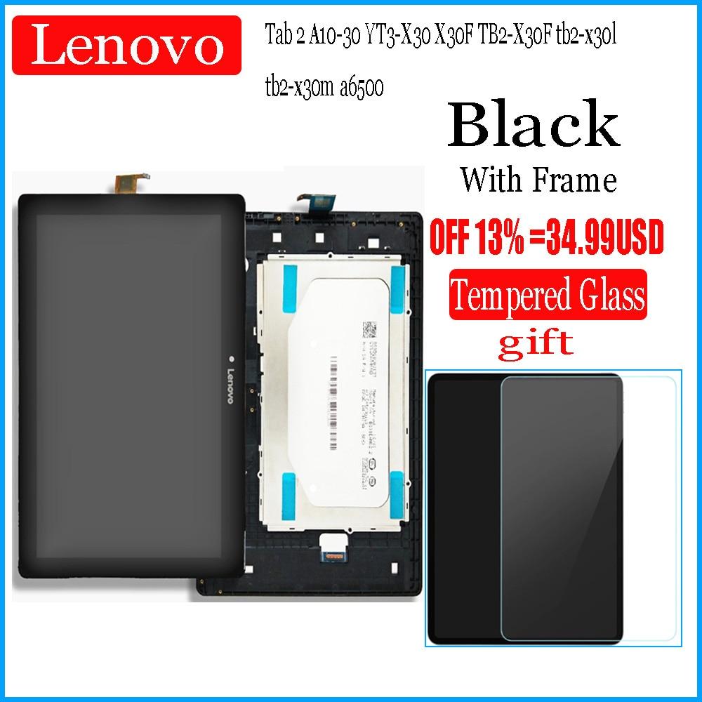 Fo Lenovo Tab 2 A10-30 YT3-X30 X30F TB2-X30F Tb2-x30l Tb2-x30m A6500 10.1