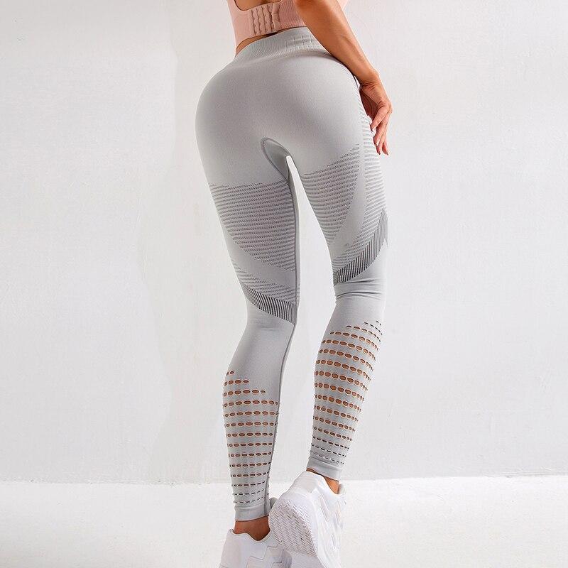 Wanita Olahraga Celana Ketat Latihan Yoga Mengerut Leggingssexy Celana Yoga Wanita Mulus Legging Sport Wanita Kebugaran Gym Legging On Aliexpress