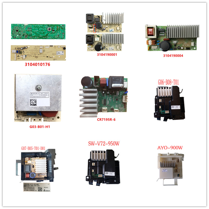 3104010176| 3104190001| 3104190004| G03-B01-H1| CR7195R-6| G06-B08-T01| G07-B05-T01-D01| SW-V72-950W| AYO-900W Used