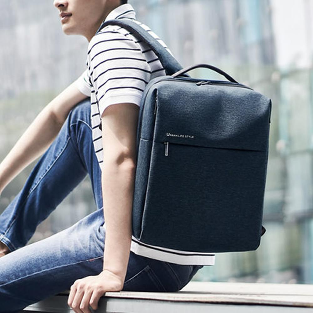 cheapest 100percent Original Xiaomi mijia Fashion backpack brief school bag Waterproof Outdoor Suit For 15 6 Inch of computer xiaomi plate