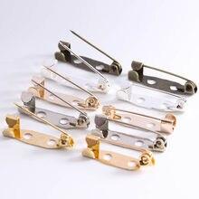 Base vierge pour la fabrication de bijoux, 50 pièces/lot, 15, 20, 25, 30, 35, 40, 45mm