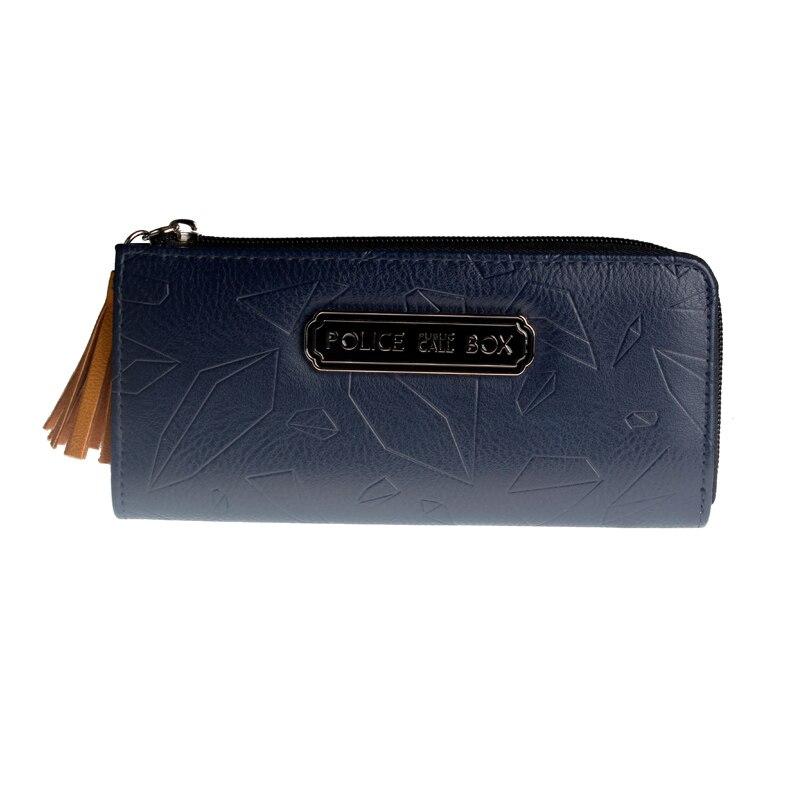 Doctor Who Tardis POLICE BOX Wallet Women Purse   5532