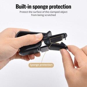 Image 3 - FONKEN 자동차 안경 홀더 안경 카드 보관 클립 자동 썬 바이저 인테리어 구성 액세서리 자동차 선글라스 홀더