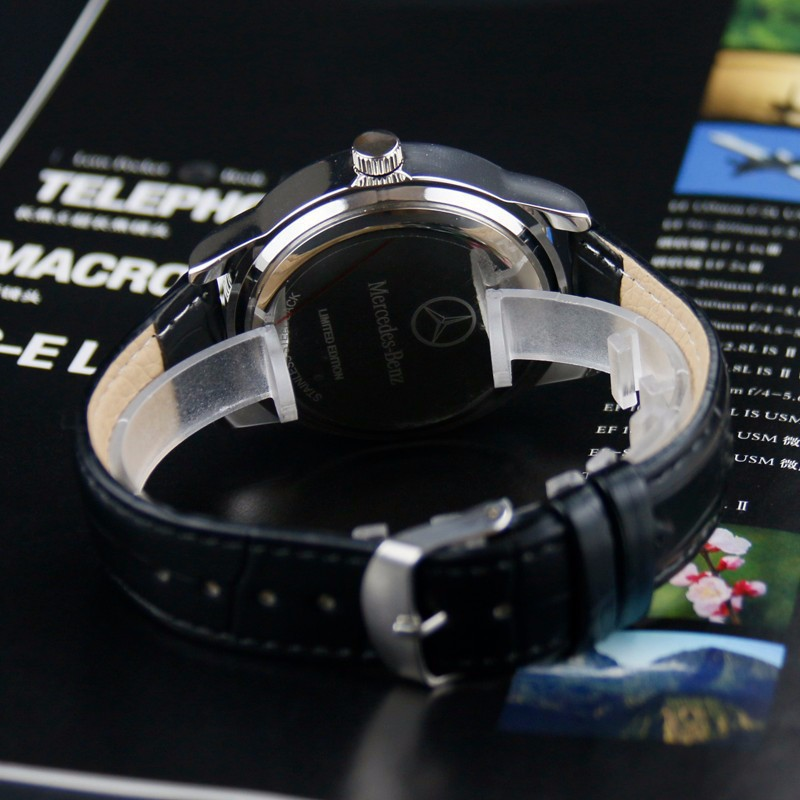 H2799a3b75d7d46de947b821a1a71e1dfd New Style Mercedes Belt Watch Men Korean-style Fashion Business Casual Leather Belt Bens
