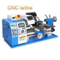 Máquina do grânulo do torno da multi-função do cnc 180 v toda a precisão da engrenagem do metal que faz à máquina o regulamento stepless da velocidade
