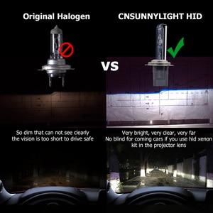 Image 3 - CNSUNNYLIGHT 1s Veloce Luminoso 55W HID Faro Allo Xeno H7 H1 H3 H11 H8 HB3 HB4 9005 9006 881 h27 4300K 6000K 8000K Lampada Della Nebbia