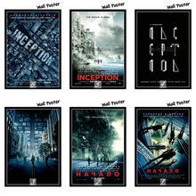 Inception Classic Movie White Kraft Paper Painting Art Print Poster Wall Picture For Home Decor 42X30cm