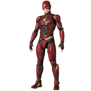 MAFEX 058 DC Justice League the Flash Super Hero Articulate PVC Action Figure Collectible Model Toys 16cm
