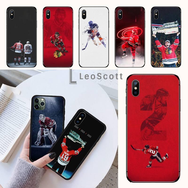 Kane Ice Hockey Phone Case for iPhone 11 12 mini pro XS MAX 8 7 6 6S Plus X 5S SE 2020 XR