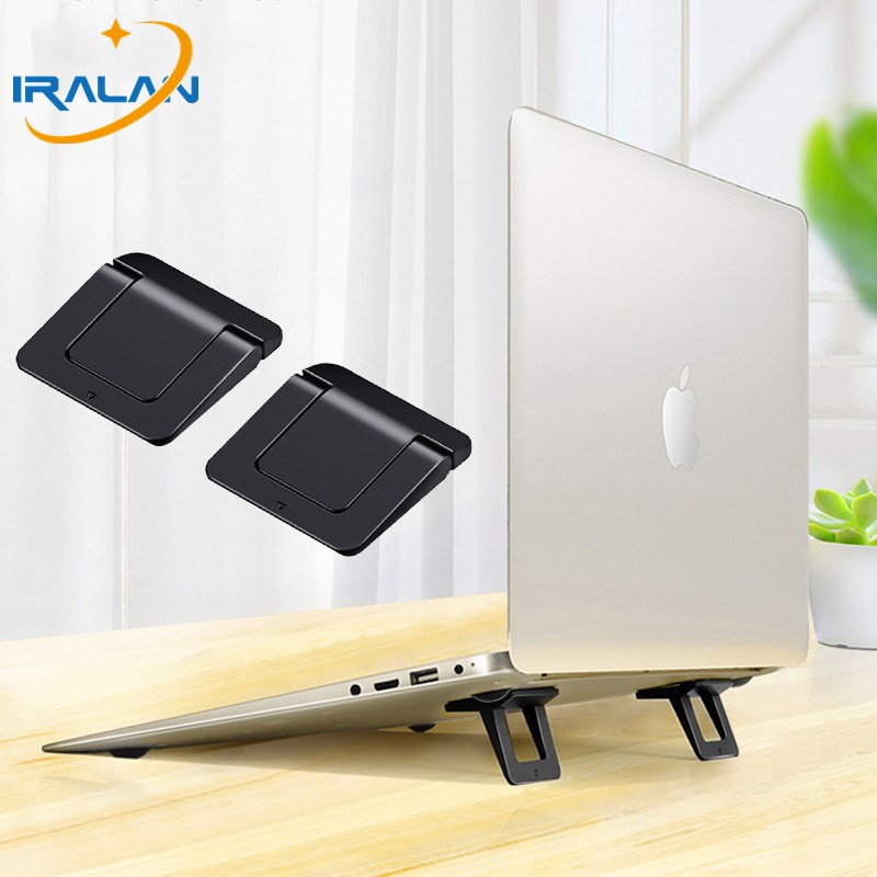 Mini <font><b>Laptop</b></font> Stand For MacBook Pro Universal Desktop <font><b>Laptop</b></font> Holder <font><b>Dock</b></font> Portable Foot Pad Cooling Notebook Stand For Mac book Air image