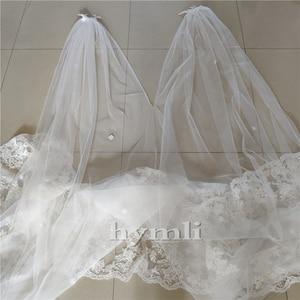 Image 3 - Cape de mariée en dentelle cathédrale longueur accessoire de robe de mariée en blanc, blanc cassé, ivoire, nouvelle collection