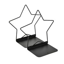 2pc/Pair Metal Book Organizer Mesh Holder Office Home Desk Bookends Accessories Stand Storage