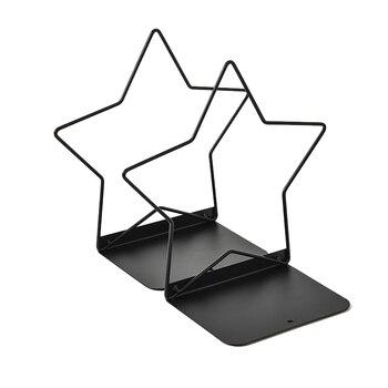 2pc/Pair Metal Book Organizer Mesh Book Holder Office Home Desk Bookends Office Accessories Stand Desk Organizer Storage Holder недорого