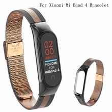 HIPERDEAL 2020 Stylish and exquisite, distinguished appearance Stainless steel strap of Xiaomi Mi Band 4 bracelet NEW(China)