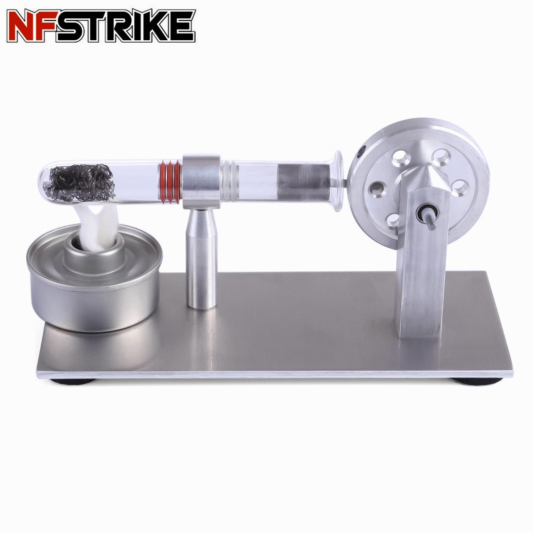Early Learning Educational Toys  For Kids Single Cylinder Stirling Engine Model Student Learning Physics Science Experiment Toy