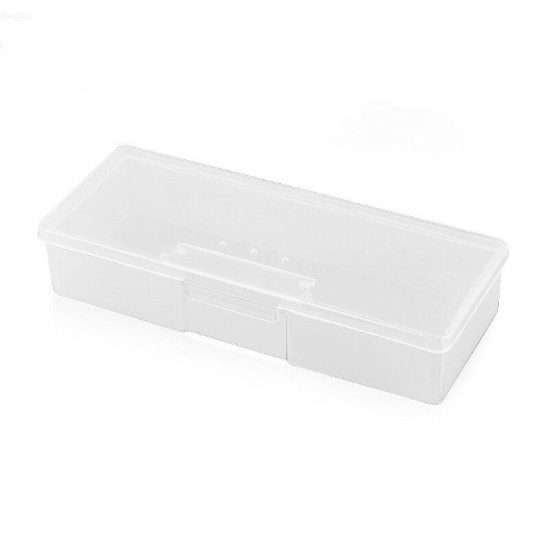 """Colección de los componentes de plástico transparente contenedor de almacenamiento Caja Estuche Vacío 7/"""" X 4/"""""""