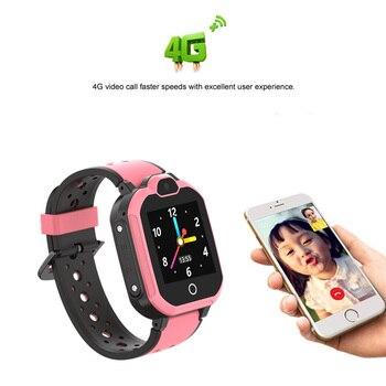 Kids 4G Smart Watch GPS Locator Dual-Core Alarm Bluetooth WiFi for Children Gift VH99