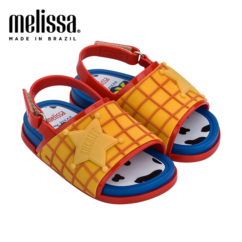 Mini Melissa Beach Slide Sandal 2020 Girl Jelly Sandals Summer Sandals Melissa Children Sandals Beach Shoes Toddler Shoes