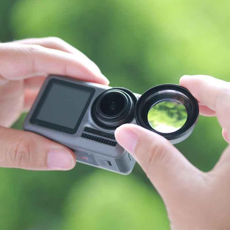 OA-5 15X Macro Kamera Objektiv für Dji Osmo Action HD 4K Optische Glas Externe Osmo Action Makro Objektiv Action zubehör