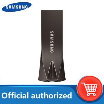 SAMSUNG BAR PLUS USB Metal Flash Drive 32GB 64GB 128GB 256GB USB3.1 pen drive up to 300MB/S pendrive memory USB flash disk