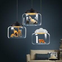 цены Modern Glass LED Pendant Lights Nordic Loft Hanglamp Kitchen Restaurant Luminaire Suspension Lamparas De Techo Colgante Moderna