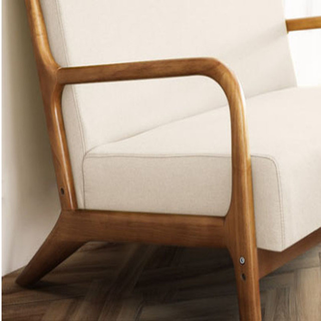 Nordic Fashion Balcony Wooden Chair  3