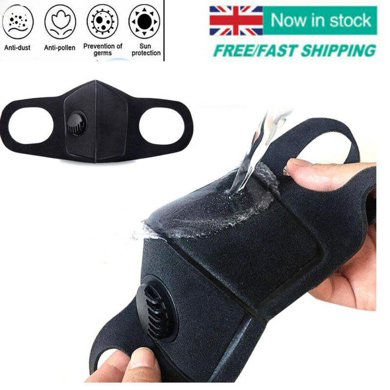 Cotton Face Mask PM2.5 Mask Activated Carbon Mask With Filter-Washable Reusable