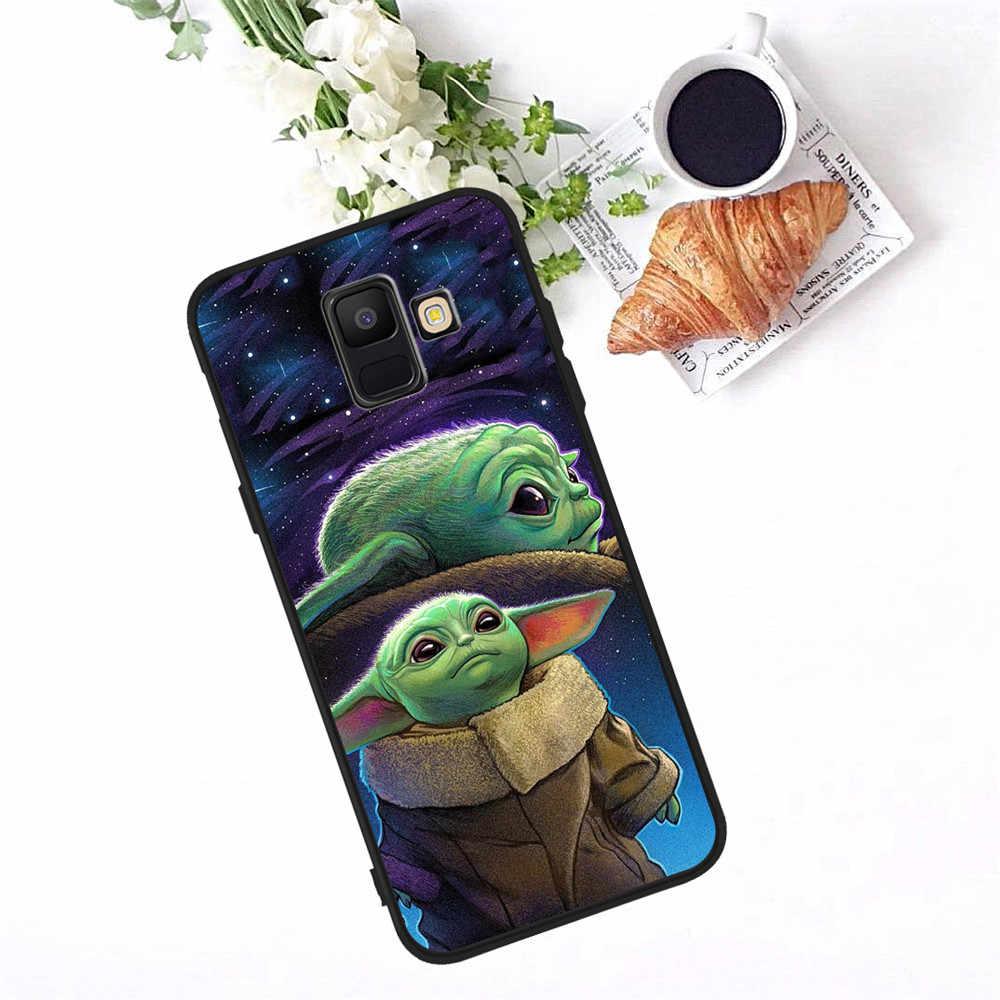 Bé Yoda Meme Dành Cho Samsung Galaxy Samsung Galaxy A3 A5 A6 A7 A8 A9 A10 A20E A30 A40 A50 A70 A80 J3 j4 J5 J6 J7 J8 Plus 2018 Ốp Lưng Điện Thoại Coque