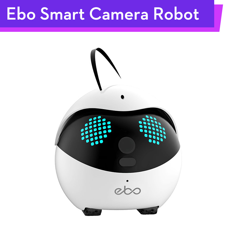 Ebo Catpal Smart Robot 1080P Camera Livestream Photography Video Tracking Record for Cat Pets 6Axis IMU with SONY IMX323 Sensor image