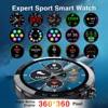 DIY watchfaces Smart Watch 360 360 HD IPS screen Smartwatch ECG IP68 Fitness Tracker expert sport Smart watch for men women review
