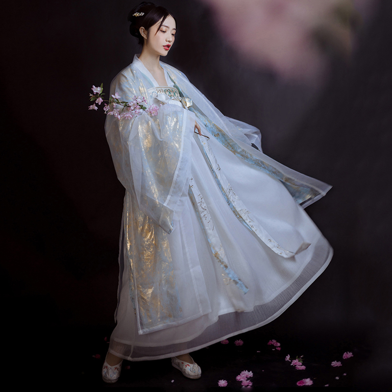 2020 chinese traditional women hanfu dress hanfu folk dance clothing fairy princess dresses tang dynasty ancient costume