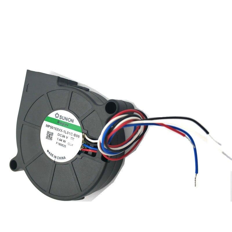 NIDEC D05F-24PH 03B fan 50*15mm 3pin 24V 0.11A