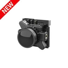 Chegada nova foxeer razer micro 1200tvl fpv câmera 1.8mm 16:9/4:3 pal/ntsc switchable cmos 1/3 com 4.5 25 v para fpv racing drone