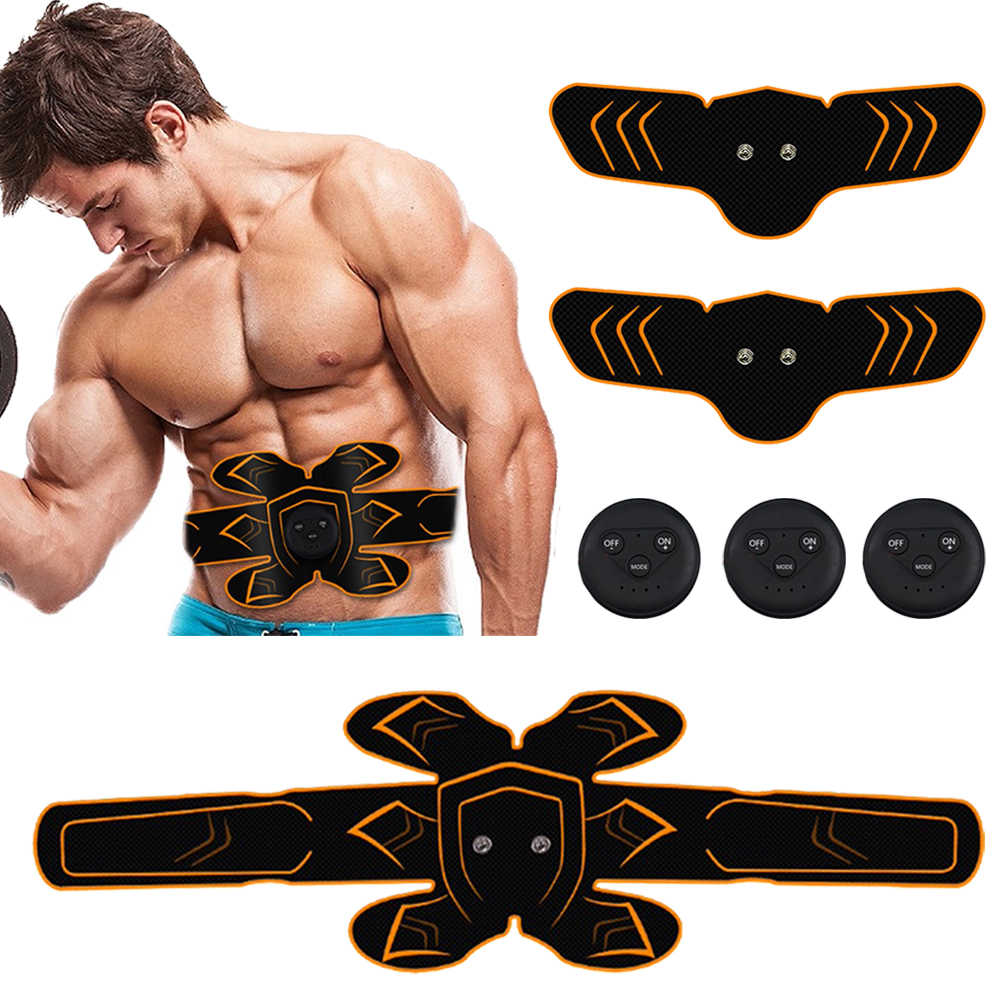 Kebugaran Otot Perut Pelatih Olahraga Tekan Stimulator Peralatan Gym Pelatihan Alat Listrik Rumah Latihan Perut Mesin