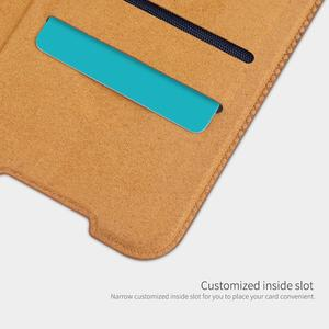 Image 4 - Nillkin for Xiaomi Redmi Note 8T Case Capa Soft Genuine Leather Wallet Smart Phone Back Cover Flip Case on Redmi Note 8T Cases