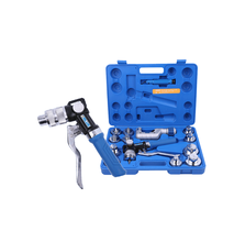 VALUE VHE-29B/VHE-42B high quality hydraulic refrigeration copper tube expander tool set for sale value 7in1 vtb 5a refrigeration repair tool set with aluminum alloy box refrigeration toolbox set flare device vacuum pump